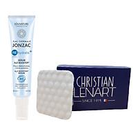 Tinh Chất Jonzac Rehydrate + H2O Booster Serum (30ml) + Tặng Bông Tẩy Trang Christian Lenart 50 Miếng