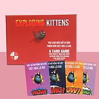 Combo Mèo Nổ Cơ Bản Và 4 Bản Mở Rộng Mèo Nổ Việt Hóa Bản Đẹp