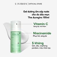 Gel dưỡng ẩm ngừa mụn, giảm thâm The Auragins Skin Rescue Brightening Gel Cream 100ml