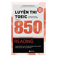 Luyện thi TOEIC 850 - Reading (Tặng kèm TickBook)