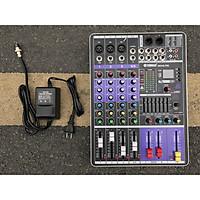 Bàn trộn âm thanh Mixer MAX 68 Pro - 99 hiệu ứng vang âm thanh chuẩn phòng thu, hát karaoke gia đình, live stream chuyên nghiệp - Bảo hành 12 tháng - Hàng chính hãng