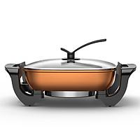 Bếp lẩu nướng nồi lẩu kép tiện lợi