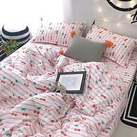 Bộ drap và chăn chần cotton NaMi 160x200, L02