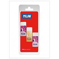Milan Vỉ 3 Gôm Plastic 6027 Bpm10047