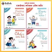 Sách Ehon Nhật Bản- Bộ sách chúng mình lớn rồi dành cho bé từ 3-6 tuổi, Ehon cùng con trên hành trình mới