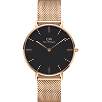 Đồng hồ DANIEL WELLINGTON PETITE MELROSE BLACK 36MM DW00100303