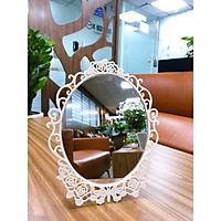 Gương trang điểm để bàn treo tường S04 - KBOX1998