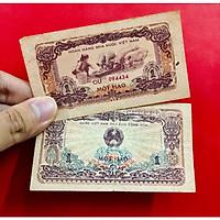 HIẾM - Tờ 1 hào Việt Nam xưa, phụ nữ miền Bắc cho heo ăn