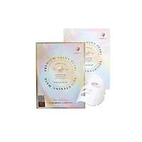 Hộp 10 Mặt Nạ ngọc trai Chống Lão Hóa, Trẻ Hóa Da, Trắng Da Rainbow L'affair Premium Shiny Pearl Aqua Brightening Mask 300ml