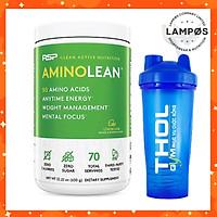 Thực phẩm bổ sung Amino Lean (70 lần dùng), Tỉnh táo - Phục hồi Năng Lượng & Kiểm Soát Cân Nặng (Tặng Bình Lắc)
