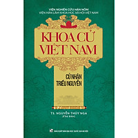 Khoa Cử Việt Nam - Cử Nhân Triều Nguyễn