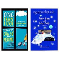 Combo 2 Cuốn Sách Văn Học Hay Nhất Mọi Thời Đại: Ông Trăm Tuổi Trèo Qua Cửa Sổ Và Biến Mất (Tái Bản) + Làm Bạn Với Bầu Trời (Bìa Mềm) / Top Những Cuốn Truyện Dài Bán Chạy Nhất