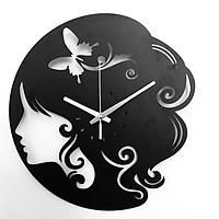 Đồng hồ treo tường chất liệu Hdf Jonnydecor