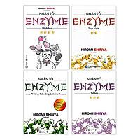 Trọn Bộ 4 Cuốn Nhân Tố Enzyme  - Tái Bản ( Tặng Kèm Sổ Tay )