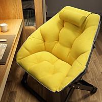 Ghế Sofa Lười Gấp Gọn Thư Giãn Đọc Sách Màu Sắc Tươi Tắn Trang Trí Nhà Cửa