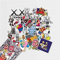 Kaws - Set 30 sticker hình dán