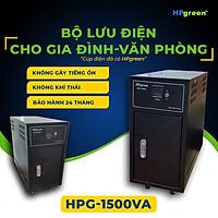 Bộ Nguồn Điện Dự Phòng HPGREEN HPG1500VA Nhập Khẩu Chính Hãng Thay Thế Cho Máy Phát Điện - Bộ Lưu Điện UPS