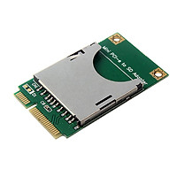 SD Card to MINI PCI-E Interface Port Adapter Mini PCI Express SSD SD Card Converter For Laptop Netbook