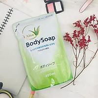 Sữa tắm trắng da, tinh chất lô hội Daiichi BodySoap Nhật Bản 400ml dạng túi