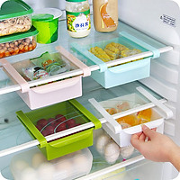 Bộ 2 Khay kéo tủ lạnh đựng thực phẩm tiện lợi gọn gàng ( màu ngẫu nhiên) ( 2 cái)