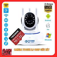 Cam IP Yosee 3 râu 2.0 - Full HD 1080 kèm thẻ nhớ