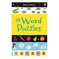 Sách tương tác tiếng Anh - Usborne 99 Word Puzzles