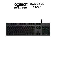 Bàn Phím Gaming Logitech G512 Lightsync RGC Mechanical Gaming - Hàng Chính Hãng - GX BROWN/TACTILE