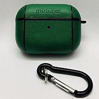 Bao da cho AirPods Pro hiệu Mutural Leather Pc chống sốc - Hàng nhập khẩu