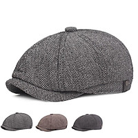 Men Retro All Match Berets Hat for Winter Spring Wear