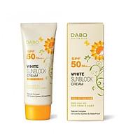 Kem chống nắng hoa cúc trắng mịn da DABO SPF 50 PA+++ Hàn quốc ( 70ml)- Hàng chính hãng
