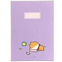 Sổ Morning Glory Shiba Perfect 20J 83300 - Màu Tím