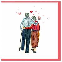 Thiệp Giấy Xoắn GX Love Việt Net VN2XM1150QXNN (15 x 15 cm)