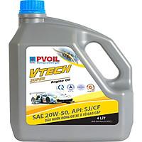 DẦU NHỚT  PV OILVTECH SUPER 20W50/4L