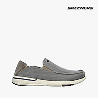 SKECHERS - Giày slip on nam Usa Elent 204085-GRY