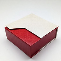 Combo 2 hộp quà đựng trang sức V.1 - Đỏ phối trắng