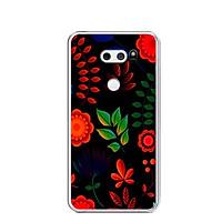 Ốp lưng dẻo cho điện thoại LG V30 - 0471 FLOWER16 - Hàng Chính Hãng