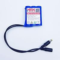 Pin sạc lithium 12V 2200mah 3S chịu tải 20A MTM chính hãng