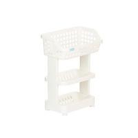Kệ Đa Năng 3 Tầng Bằng Nhựa Cao Cấp Nachi Plus Inochi Nhật Bản - Dùng Trong Nhà Bếp, Phòng Tắm, Phòng Ngủ (298 x 190 x 376 mm) - Giao Màu Ngẫu Nhiên