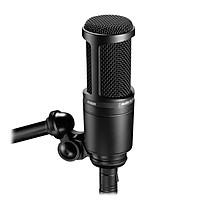 Micro thu âm condenser Audio-Technica AT2020 cho thu âm, hát livestream chất lượng cao - Hàng chính hãng
