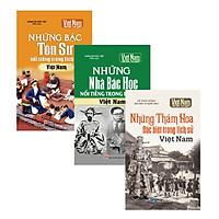 Combo Tủ sách Kể chuyện lịch sử Việt Nam 6 - Truyện kể danh nhân Việt Nam