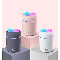 Máy phun sương tạo ẩm đèn led đa sắc màu 300ml loại mới