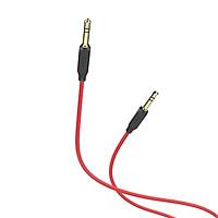 Cáp 2 đầu âm thanh AUX Hoco UPA 11 dài 1M màu đỏ - Hàng chính hãng