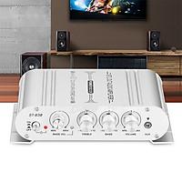 Âm ly - amply MINI ST-838 12V Hi-Fi 2.1 cho Xe ô tô,Xe máy, âm thanh gia đình có Bass mẫu mới 2020 - hàng chính hãng