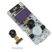 TTGO T-Camera ESP32 WROVER with PSRAM Camera Module OV2640 Camera 0.96 Inch OLED - Fish-eye lens