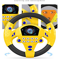 Tailored Children's Simulation Small Steering Wheel Copilots Simulated Steering Toy