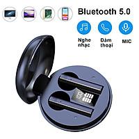 Tai nghe không dây nhét tai cảm ứng tăng giảm âm lượng ngay trên tai nghe bluetooth 5.0 - Hàng Chính Hãng