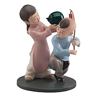 Tượng Gốm Sứ Minh Long Xuân - Màu F0017022
