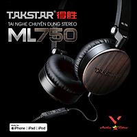 Tai nghe Takstar ML750 - AVSTAR , Tai nghe chụp tai, tai nghe nghe nhạc, tai nghe có dây - hàng chính hãng