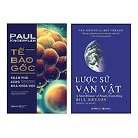 Combo Tế Bào Gốc + Lược Sử Vạn Vật (Tái Bản)(2 cuốn)