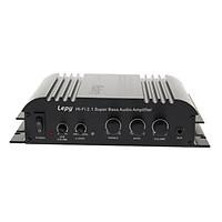 Mini 2x45W Hi-Fi Amplifier Home Audio Stereo Power Bass Music Streaming Amp